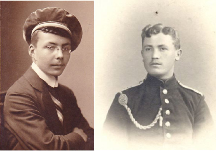 Thilo and Leutnant Thielicke (Egbert Sandrock)