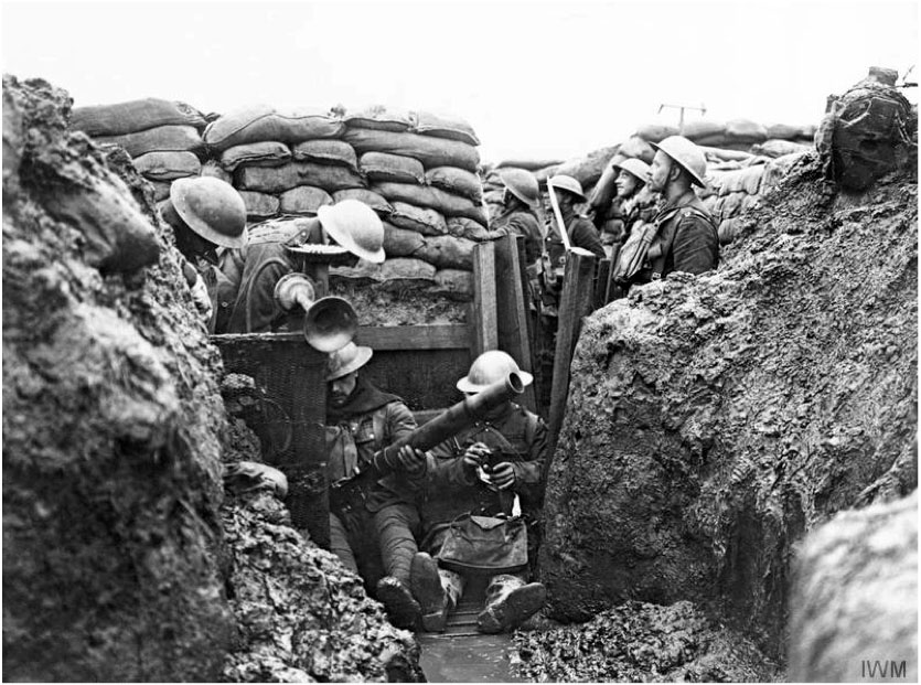 A typical trench